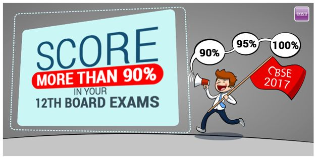 Byjus - Tips to score more than 90 percent in your 12th Board Exams