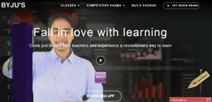 Byjus - Website - Homepage
