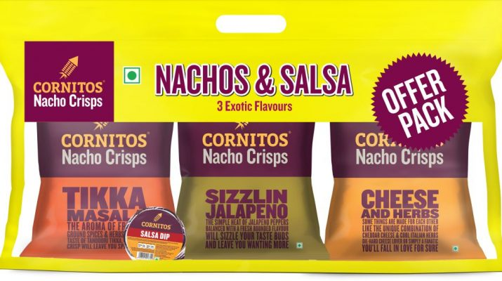 Cornitos Nachos Salsa Combo in Attractive New Packaging Launched