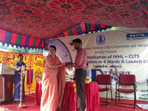 HCL Foundation with WASHi & Madurai Corporation to make Madurai an open defecation free city 1