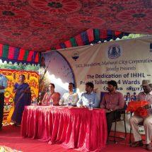 HCL Foundation with WASHi & Madurai Corporation to make Madurai an open defecation free city