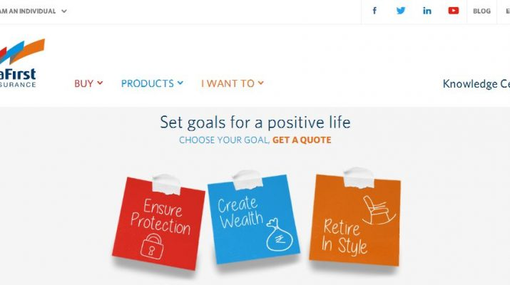 India First Life Insurance - Website - Home Page