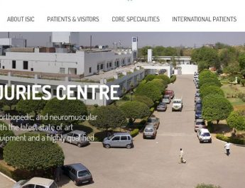 Indian Spinal Injuries Centre - Home Page - Website