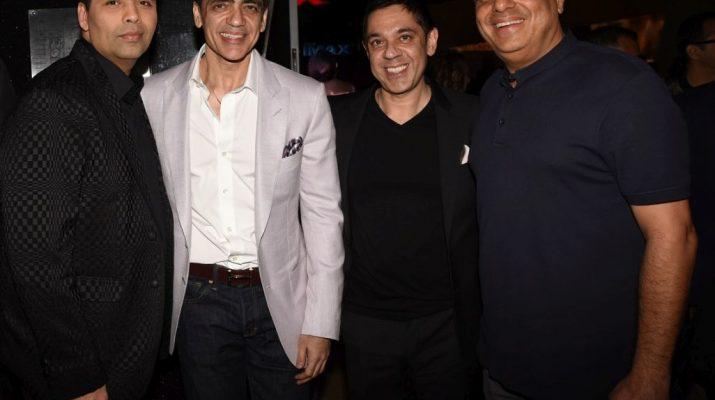 Karan Johar - Ajay Bijli - Sanjeev Kumar Bijli and Ronnie Screwala
