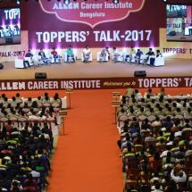 Topper's Talk organized by Allen Institute for Career