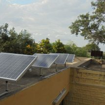 Suzlon Foundation supports students by installing solar lights in welfare hostels located in Anantapur, Andhra Pradesh