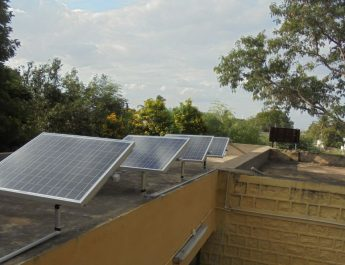 Suzlon Foundation supports students by installing solar lights in welfare hostels located in Anantapur