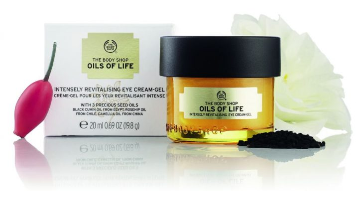 The Body Shop- Oils of Life Eye Cream Gel 1