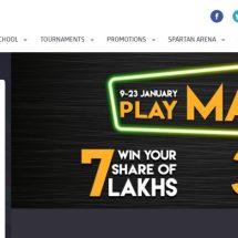 TheSpartanPoker New Year Double Millionaire winner Gaurav Jain bags 20Lacs & a iPhone 7!