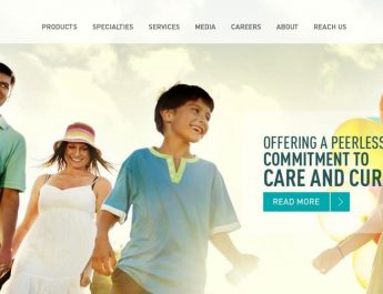 Trivitron Healthcare - Website - Page