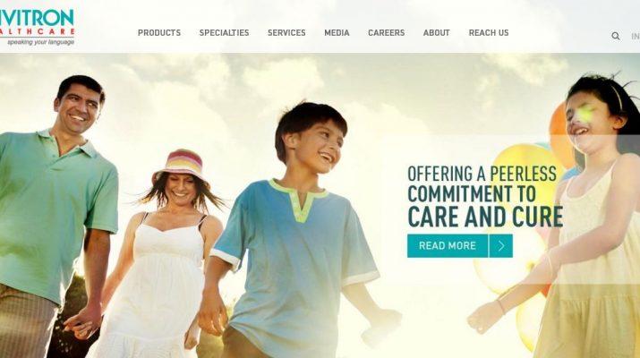 Trivitron Healthcare - Website - Page
