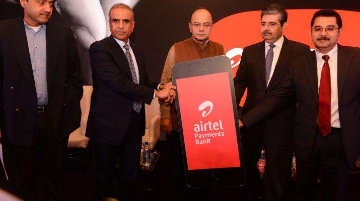 Union Finance Minister Shri Arun Jaitley launches Airtel Payments Bank