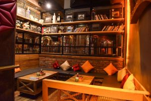 Warehouse Cafe - Gurgaon - Seating