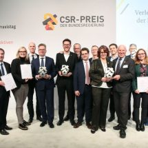 Committed to protecting water, our invaluable resource: Grohe AG wins the CSR Award of the German Federal Government