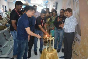 ASUS Kochi Service Center Inauguration - Lighting the Lamp