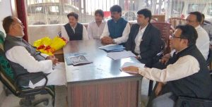 All India Gems and Jewellery Trade Federation meet Bihar Ministers 1
