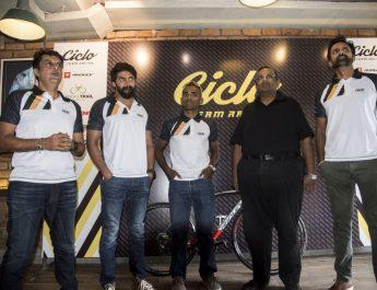 Ashish Thadani - Naveen John - Arun and Arvind - Ciclo Team Racing