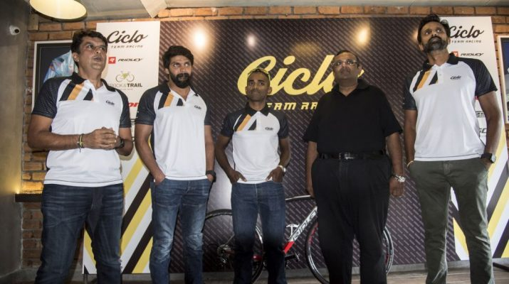 Ashish Thadani - Naveen John - Arun and Arvind - Ciclo Team Racing