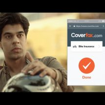 Coverfox.com's latest TVC has a humorous take on renewing your bike insurance instantly