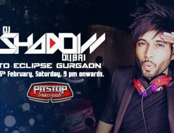 DJ SHADOW DUBAI - INDIA PERFROMANCE IN GURGAON - PITSTOP BREWPUB - 25 FEB - 9PM