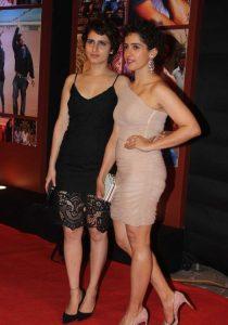 Dangal actresses Fatima Sana Shaikh and Sanya Malhotra
