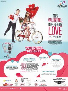 Dlf saket Valentine ad