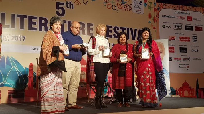 Dr Blossom Kochhar presented her New Book - Aromatherapy - A Way Of Life - at the Delhi Literature Festival 4
