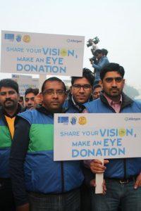 Eye donation campaign at AIIMS