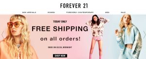 Forever 21 - Home Page