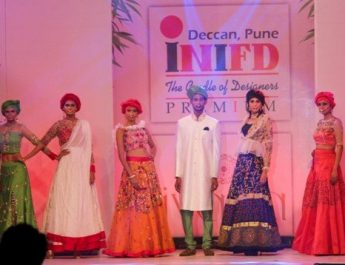 INIFD DECCAN - PUNE rocked the Annual Fashion Show - IVANA 2017 11