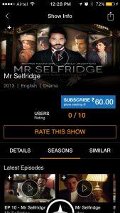 ITV Catalog on Hungama Play 2