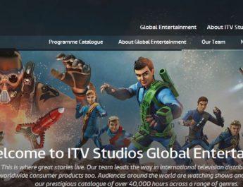 ITV Studios - Website - Page