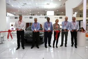 Inauguration by the LANXESS Leather BU Management Team