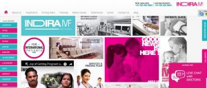 Indira IVF - Home Page - Website