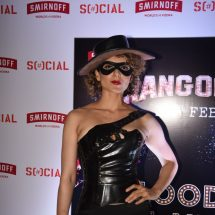 Kangana Ranaut whips up the Rangoon Special SMIRNOFF x SOCIAL 'Bloody Hell' cocktail at Khar Social