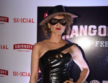 Kangana Ranaut at Khar Social 2