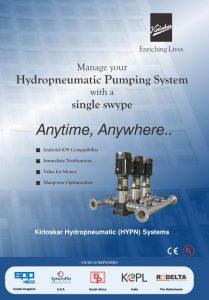 Kirloskar Brothers - Hydro-Pneumatic System - Vertical