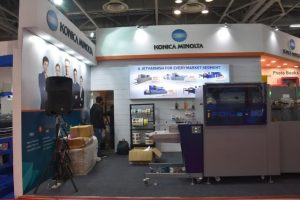 Konica Minolta Demonstrates Its Cutting Edge Printing and Web Solutions At Printpack India 2017