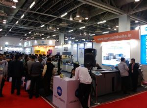 Konica Minolta Demonstrates Its Cutting Edge Printing and Web Solutions At Printpack India 2017 4