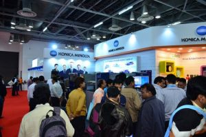 Konica Minolta Demonstrates Its Cutting Edge Printing and Web Solutions At Printpack India 2017 5