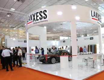 LANXESS Booth at IILF 2017