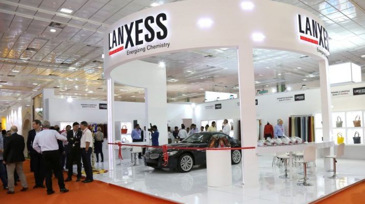 LANXESS Booth at IILF 2017