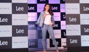 LEE India unveiling their brand ambadassor Jacqueline Fernandes