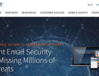 Mimecast - Website - Homepage