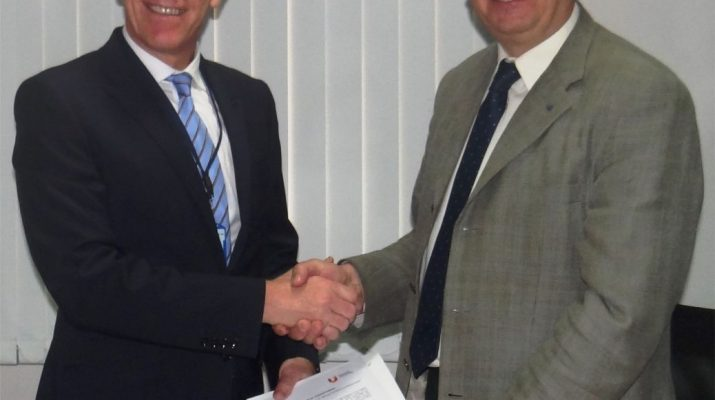MoU Signing between Teesside University UK and TUV Rheinland India