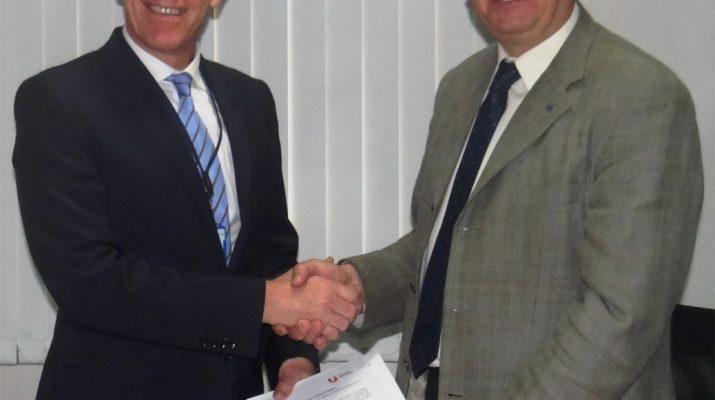MoU Signing between Teesside University UK and TUV Rheinland India