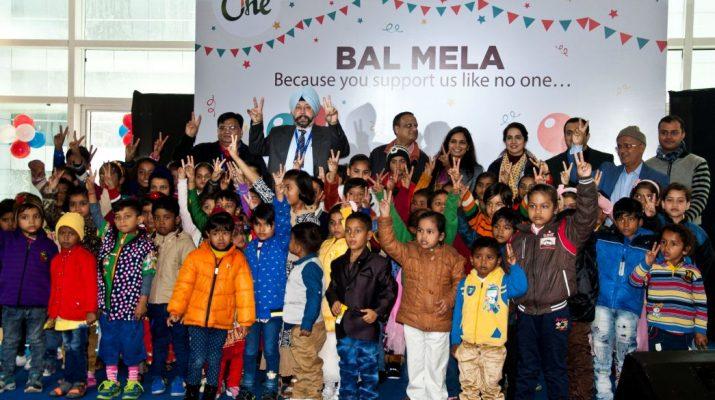 Ms Nidhi Pundhir - Director-CSR - HCL Foundation with children