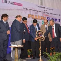 Above 500 Pharma Graduates attend National Pharma Summit 2017 at IIHMR University in Jaipur