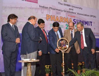 National Pharma Summit 2017 at IIHMR University in Jaipur 1