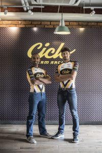 Naveen John and Arvind - Ciclo Team Racing